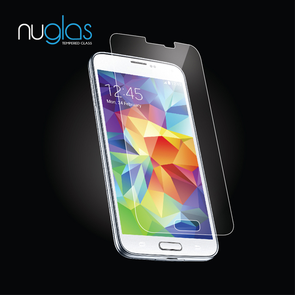 Custom design package mobile phone security screen protector for Samsung Galaxy S5