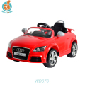 Licensed remote control baby car with 2.4G r/c, music and light, handle bar optional kids car, popular present WD676A