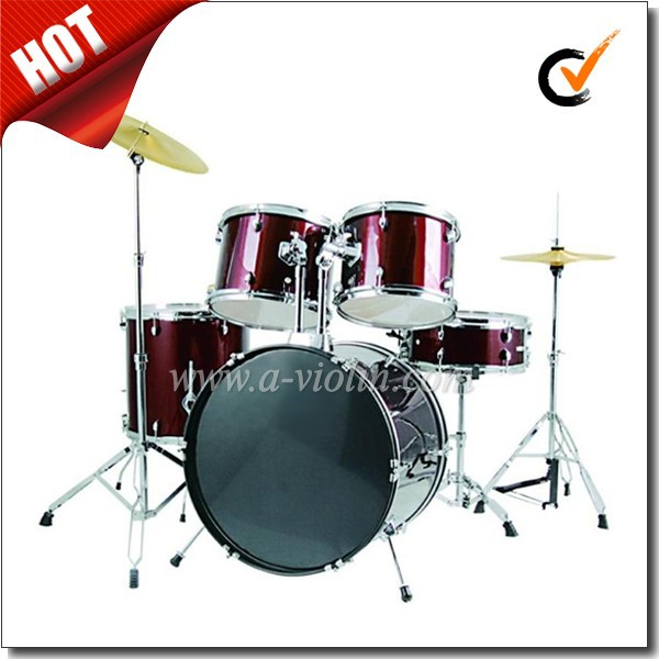 [WINZZ] 5 PC PVC Cover Jazz Drum Set For Adult (DSET-210B)