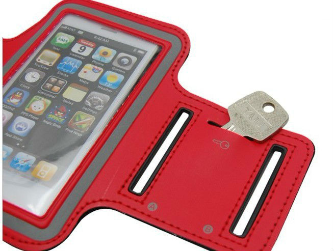 Sports Running Jogging Armband for iPhone-Red