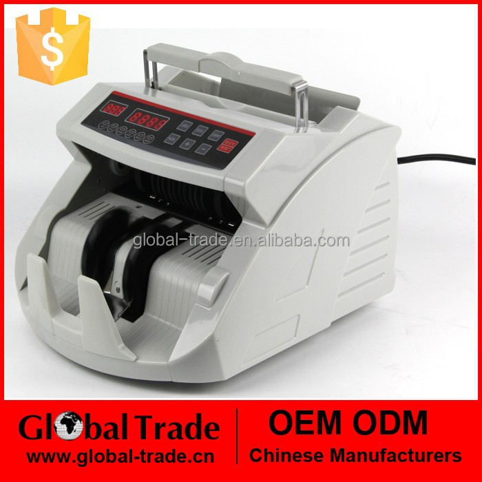 Money Counter Machine Currency Cash Bills Dollar Store Counting Bank Bill Sorter H0146