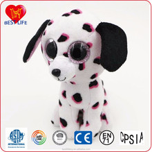 oem custom size and color flop spotted dog plush toys