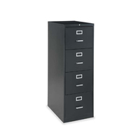 Customized legal size office stainless steel 2 3 4 drawers horizontal plan A4 black durable storage file cabinet