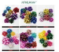 Decorative star bow for gift box wrapping and wedding decoration