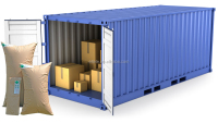 Sea Shipping Securing Container Inner Void Fill Paper Dunnage Air Bags