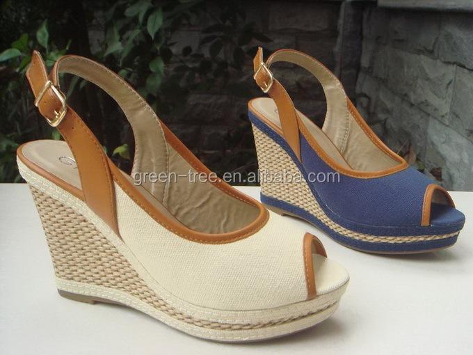 haute couture lumire wedge chaussures de mariage talon compens sandale pour les femmes - Chaussure Mariage Compense