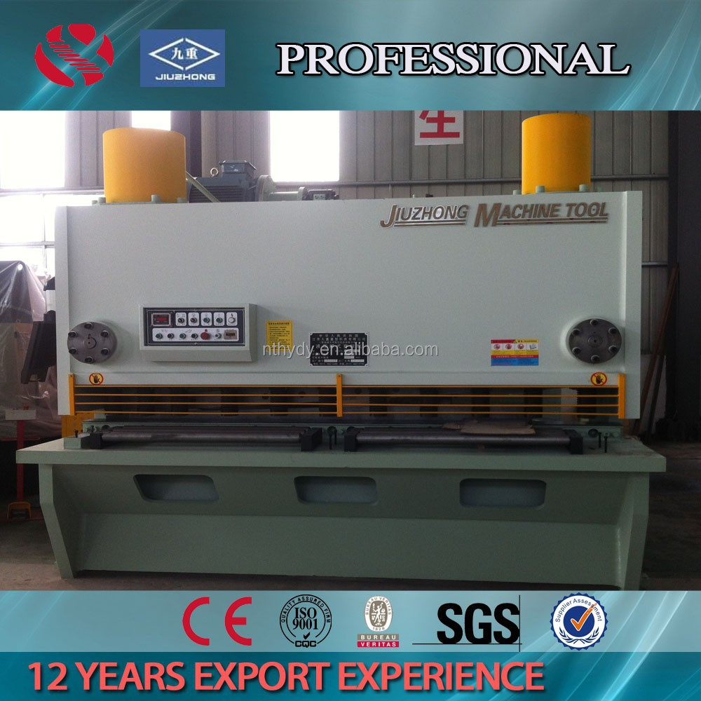 Guillotine Design Metal Plate Shear
