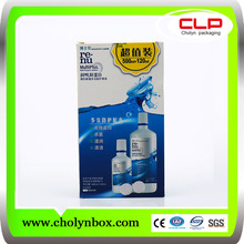 2017 OEM Custom Contact Lens Solution Packaging Box Wholesale Contact Lens Solution Packaging Factory From China
