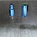 Free samples 15ml glass bottle with metal aluminum spray