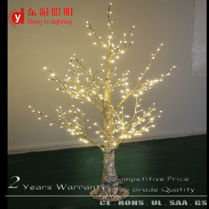 waterproof decorative Led lighting tree warm white led twig birch trees for christmas