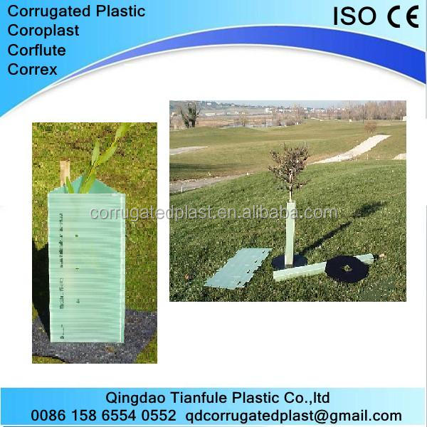 Corrugated Plastic Plant Protect Sheet