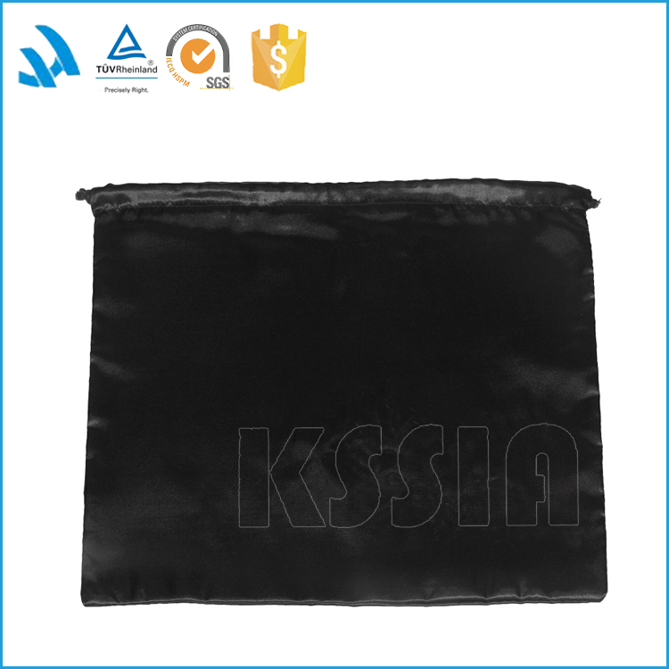 High quality polyester drawstring dust bag ,shoe packaging bag