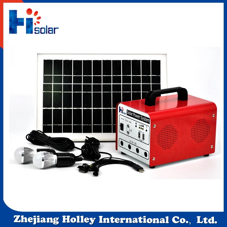 Mini projects solar power system 30W 20Ah portable easy install mini solar power generator