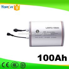 China manufacture rechargeable lithium 18650 12v 60ah mobility scooter battery