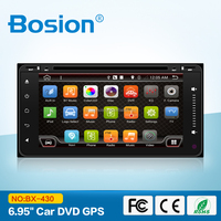 Bosion Fast Delivery Ful Touch Screen Aux in Android Toyota auris 2 Din 7 inch Car dvd Player GPS Navigation with Wifi