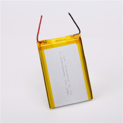 Wholesale price 3.7v micro usb lithium battery 6000mah with wire