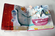 Fashion Picture Printing Pop-up Books/3D Books For Kids