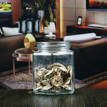 Discount unique shape glass containers for storage