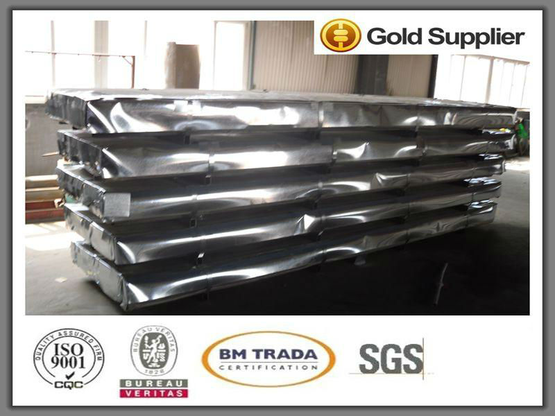 Construction building metal brand new roofing ppgi color corrugated steel sheets zinc coating 60g