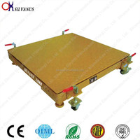 PY Type electric moveable 1 ton floor scale