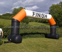 finish line arches,inflatable entrance arch,decoration inflatable arch for sale C2003