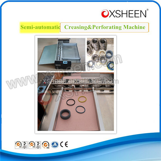wheel type creasing machine,automatic paper creasing&cutting machine