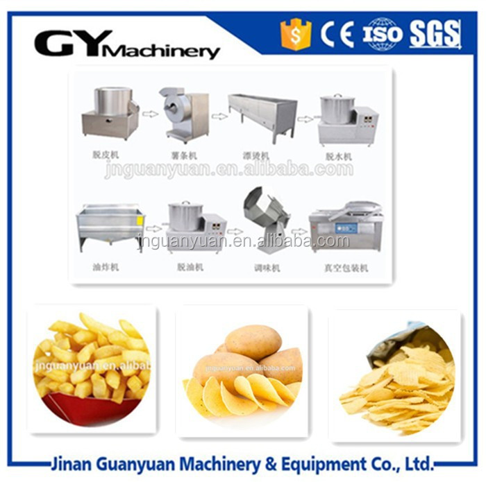 Fast Food Equipment for French Fried Potatoes Machine