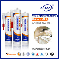 underwater resistant general purpose acetate silicone sealant
