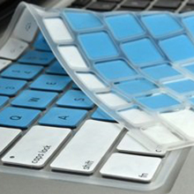 Customized silicone laptop keyboard cover for Macbook 13