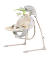 Infant foldable baby cradle with electric toys (Model TY801)