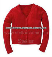 Women's v neck cardigan plain sweater designs