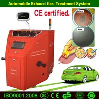 automotive exhaust gas analyzer, visible diesel catalytic converter cleaning machine