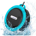 Portable Waterproof Outdoor Wireless Speaker Shower Car Handsfree Calls Built-in Mic Wireless Speaker with Suction Cup