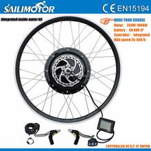 2015 Electric Bicycle Hub Brushless Magnetic DC Motor Conversion Kit for Rear Wheel