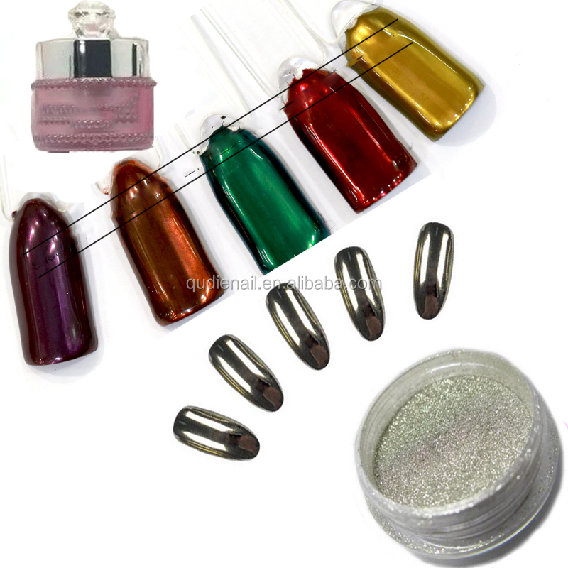 Chrome Mirror Powder for Mirror Nails Mirror Effect Powder Pigment