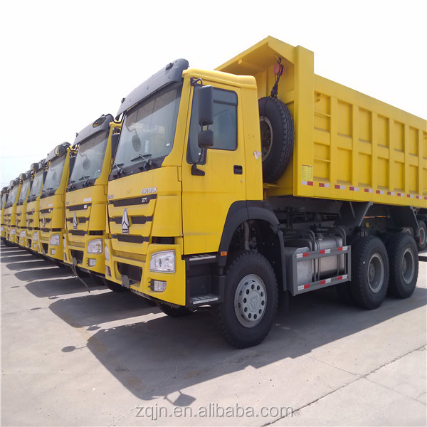 HOWO Truck 10 tiers tipper price