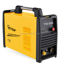 single phase portable arc welding machine tig 200