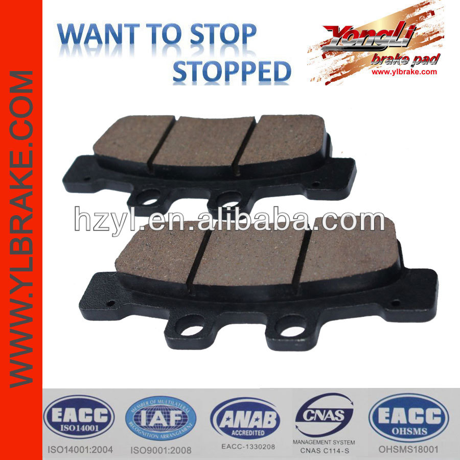 Excellent braking ability brake pads kids racing go karts