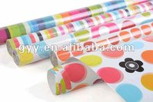 2012 Cute Candy wrapping paper rolled