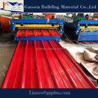 Hot sale low cost color steel roof tile