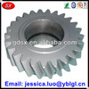 China made high quality precise custom grinding helical gear for gearbox,6061 aluminum small helical gear