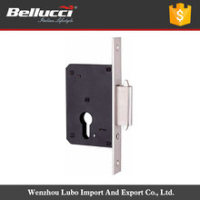 Euro Size New Style Stainless Steel Mortise Cylinder Lock Body
