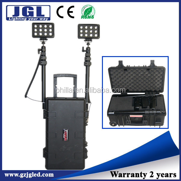 2015 Hongkong Fair rechargeable maintenance work light construction equipment