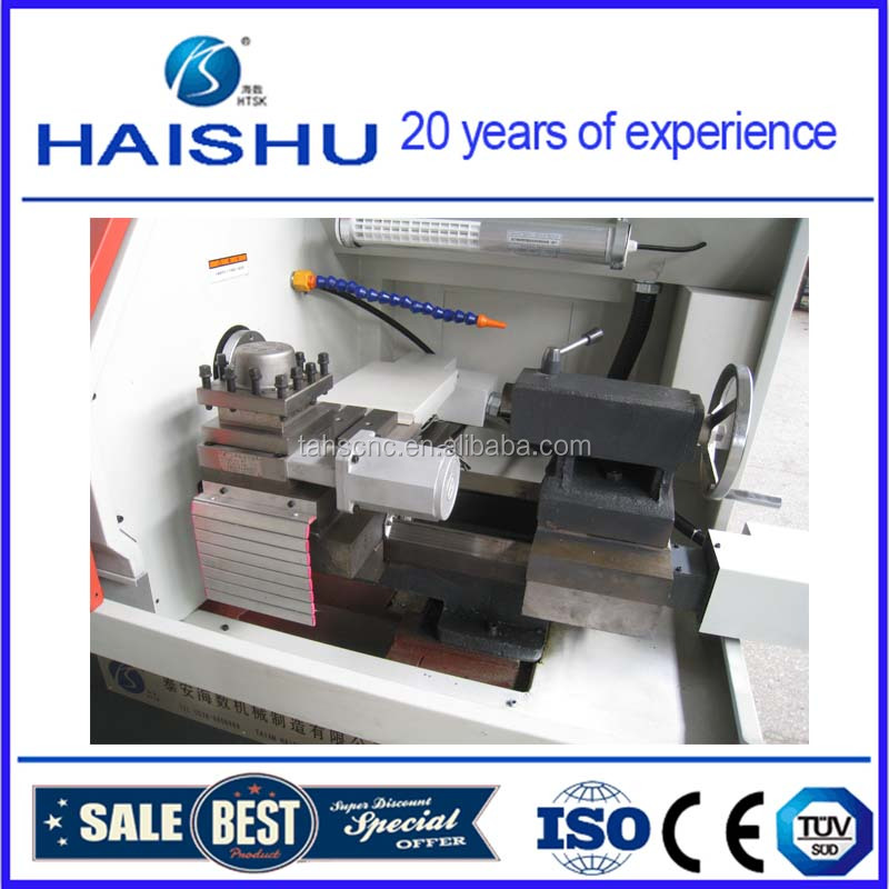 Mini CNC lathe machine center made in china with tool holder CK0640A