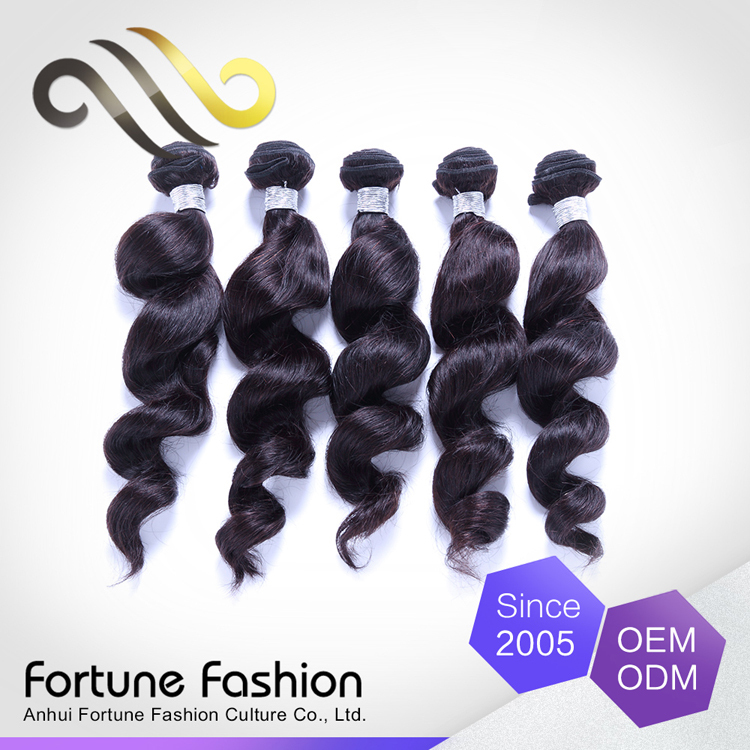Hot new products for 2016 model hair extension wholesale all express Brazilian hair loose wave