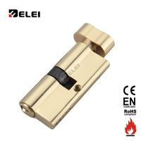 Euro Profile Brass Cylinder Lock
