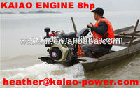 FACTORY PRICE ! 8hp diesel engine boat use /Air cooled engine for sale !