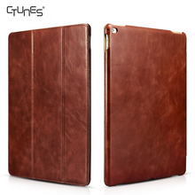 For iPad Pro Leather Case,Leather Flip Folio Case Slim Stand Function Smart Cover For Apple iPad Pro 12.9 inch