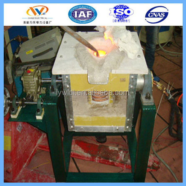 25kg Medium Frequency Gold Melting Vacuum Induction Furnace