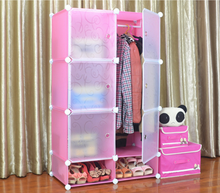 Plastic Material and Cabinet, Bedroom Furniture, Living Room Furniture Type plastic wardrobe cabinet